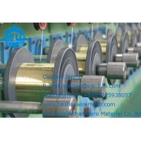 China wholesale edm brass copper wire wiyh high quality and low price for EDM cutting machine Manufactures