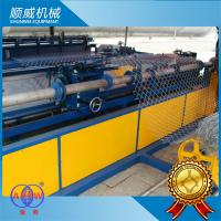 Chain Link Mesh Machine Weaving Opening 25mm - 100mm PLC automatic controller Manufactures