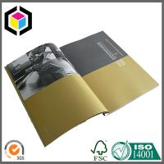 Full Color Offset Print Paper Brochure; Perfect Binding Custom Color Brochure Manufactures