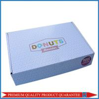Baked Fresh Donuts Food Grade Paper Packaging Box with Custom Print Manufactures