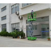Buy cheap 5.9m Mini Electrical Mobile Self Propelled Scissor Lift with 240Kg Loading Capacity from wholesalers