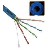 UTP CAT5E Network Cable 24 AWG 4 Pairs Solid Bare Copper for Gigabit Ethernet Manufactures