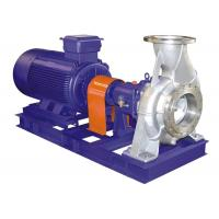 Electric Motor Waste Water Pump , Chemical Process Sewage Transfer Pump Manufactures