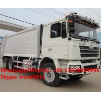 customized SHACMAN 6*4 LHD18 cubic meters compression garbage truck for sale, HOT SALE! shacman  refuse garbage truck Manufactures