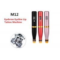Spiral Lip Eyelines Permanent Makeup Tattoo Machine With Built In Battery Manufactures