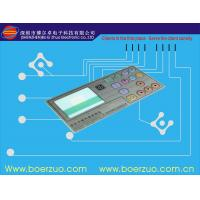 Clear Transparent LED Membrane Switch polyester with metal dome Manufactures