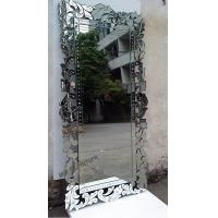 Handmade Rectangular Venetian Mirror , Home Decorative Antique Venetian Mirror Manufactures