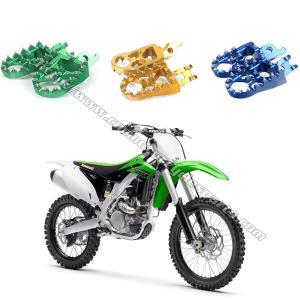 Dirt Bike Passenger Foot Pegs Removable / Replaceable Teeth Motocross Footpegs Manufactures