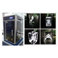 800W 3D Glass Crystal Laser Engraving Machine , Sub Surface Engraving Equipment Manufactures