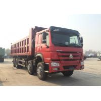 Hydraulic 8*4 Backward Tilting Mining Dump Truck For Material Transportation Manufactures