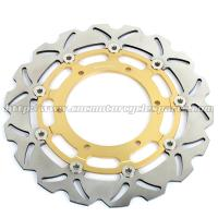 Front Motorcycle Brake Parts Disks Yamaha FJR 1300 YZF R7 CNC Billet Black Gold Manufactures