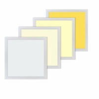 Square IP20 Ultra Thin LED Panel Lights CCT Changing For Office Manufactures