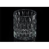 Home decoration Wedding Decorative Glass Candle Jars Glass Candle Containers Manufactures