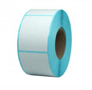 China self adhesive thermal paper thermal top or eco thermal label printing direct thermal label on sale