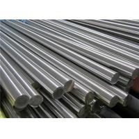 Cold Drawn 316 Stainless Steel Bar , ASME Decorative Effect Round Steel Bar Manufactures