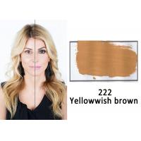 China Organic Permanent Makeup Ink Pigment , Yellow Brown Safe Tattoo Ink on sale