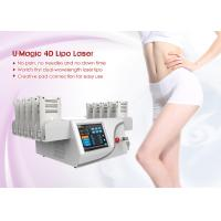 Body Slimming Aesthetic Laser Machine 8 Big Lipolaser Pads+ 4 Small Lipolaser Pads Manufactures