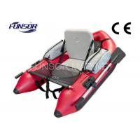 Small Dinghy Belly Inflatable Pontoon Fishing Boat Single Person Inflatable Boat Manufactures