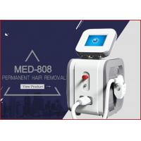 MED - 808 peak power 2000w net weight 43kgs portable diode laser hair removal painfree machine Manufactures