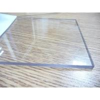 Transparent Polycarbonate Sheet / Uv Resistant Polycarbonate Sheets Sound Barrier Manufactures