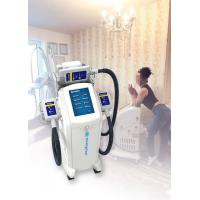 Vertical Cryolipolysis Fat Freezing Machine , Supersonic Fat Reduction Device Manufactures