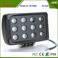 """7"""" 36W 3600LM LED work light in optional spot or flood beam for tractor,jeep,SUV and 4WD Manufactures"""