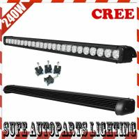 39inch 24480lum 240W USA CREE LED Work Light Bar Off-road driving light 4X4 ATV light Manufactures