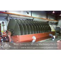 Ore Slurry Vacuum Disc Filter Dewatering In Mineral Processing Manufactures
