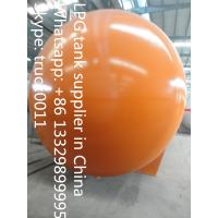 CLW brand bullet type stationary 120m3 surface lpg gas storage tank for sale, hot sale 120,000L surface lpg gas tank Manufactures