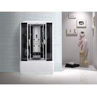 Computer Panel Bathroom Shower Cabins White ABS High Tray Silive Profiles Manufactures