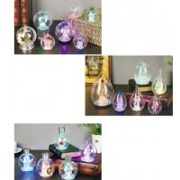 Quality Snow Shape Color Changing Led Night Light , Acrylic Led Snowman For Outdoor for sale