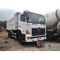 Used Hino Dump Truck Manual 700 6x4 8x4 With 20-30tons Loading Capacity Manufactures