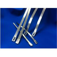 Natural Color Stainless Steel Cable Ties High Resistance To Acetic Acid Manufactures