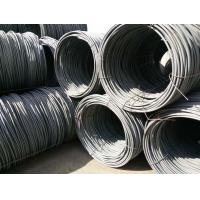 SAE1008 Hot Rolled Steel Galvanized Wire Rope / Wire Rod Diameter 6.5mm For Concrete Manufactures