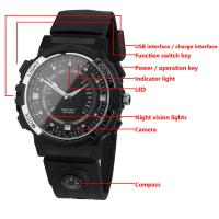 Y30 8GB 720P WIFI P2P IP Spy Watch Hidden Camera Recorder IR Night Vision Motion Detection Remote Video Monitoring Manufactures