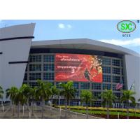 China Live Broadcast outdoor smd led display RGB Color P10 Stadium LED Display Video Wall with Static Scan on sale