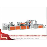 EPC Control Stepping Motor non woven fabric bag making machine , Micro - computer Controlled Manufactures