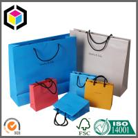Colorful Design Printed Paper Character Bags; Rope Handle Thick Paper Shop Bag Manufactures