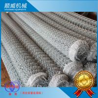 Professional Manual Chain Link Fence Machine Weaving Opening 25mm - 100mm Manufactures