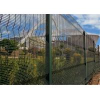 Buy cheap ClearVu Fencing /358 Security Fencing Panels Mesh 12.70mm x 76.2mm Diameter 4.00mm HDG powder coated from wholesalers
