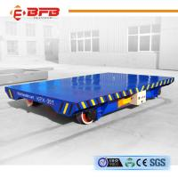 Easy Operation Four Wheels Battery Transfer Bogie Industrial Field Manufactures