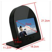 Quality 7 Inch 2500cd/m2 High Brightness LCD Display Monitor Support Button Control for sale