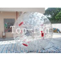 Water Fun Game Transparent Safety Inflatable Zorb Ball For Sports Playground Manufactures