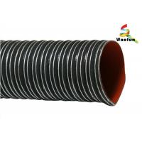 Buy cheap Plain Cut Silicone Flexible Duct for Both High and Low Temperature from wholesalers