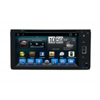 Octa Core Indash Navigator Double Din Car DVD Player 6.95 Inch For Universal Manufactures