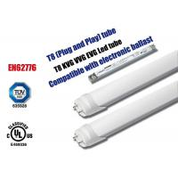 Commercial 6000k T8 Led Replacement Bulbs , Shop Led Fluorescent Tube Lights Manufactures