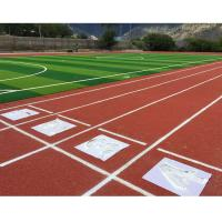 Resilient Outdoor Volleyball Court Flooring Spray Coat System All Weather Type