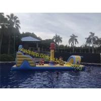 Quality pirate pool obstacle course kids water obstacle for sale