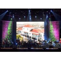 Electronic Full Color P7.62 SMD 3 in 1 3528 1R1G1B Indoor Led Stage Backdrop Screen Manufactures
