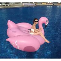 Custom Lovely Animal Shape Inflatable Swim Ring For Children / adult , PVC Pool Float Manufactures